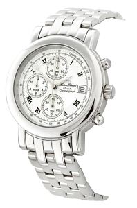 Lucien Piccard Men's Watch - Lucien Piccard Mens Chronograph White Dial
